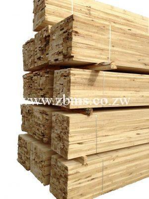 76 By 38 By 6m Purline Roof Timber Zimbabwe Building