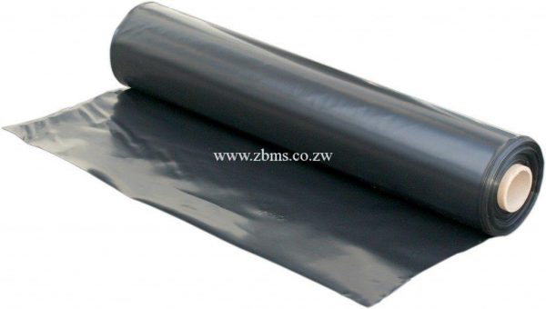 5 Rolls Black Polythene Plastic Sheets Zimbabwe Building