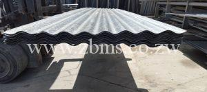 excess and left over building materials roofing sheets