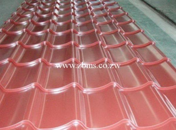 Q Tile Roofing Sheet Painted Zimbabwe Building
