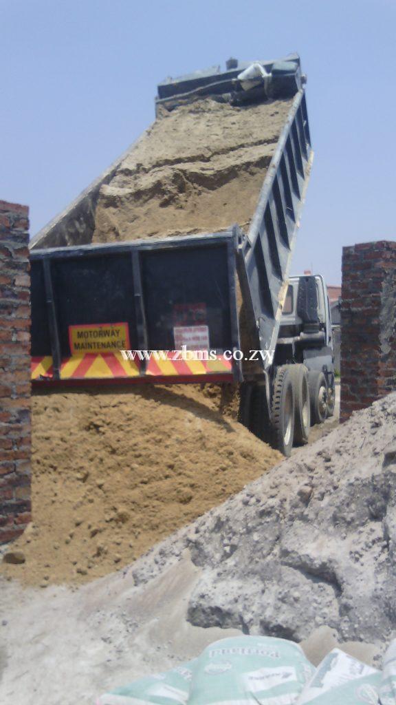 Registered bricks pitsand riversand gravel quarry dust