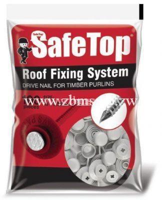 1kg Safetop nails packet - 100 pieces| Chromadek Ibr & Qtile nail