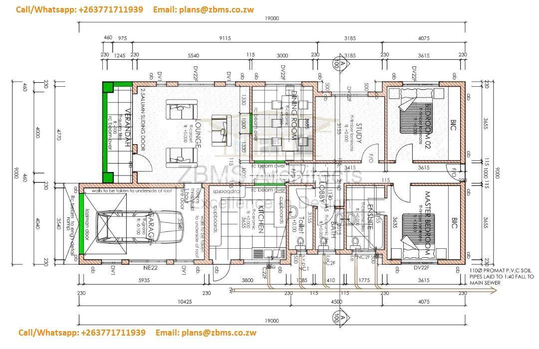high density main house plans