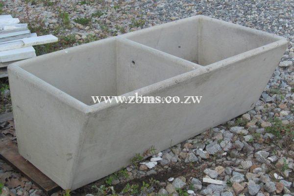 Double Laundry Concrete Sink Zimbabwe Building Materials