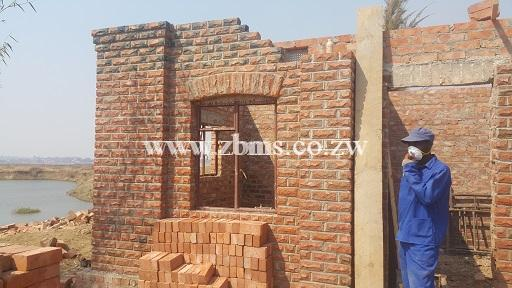 house and other buildings construction stages in zimbabwe
