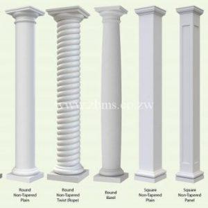 Verandah pillars
