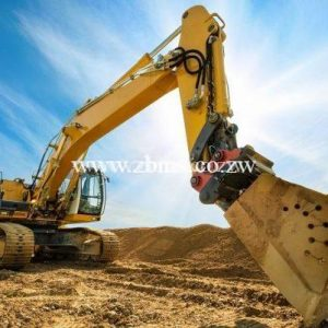 Hydraulic excavator for rental in Harare Zimbabwe