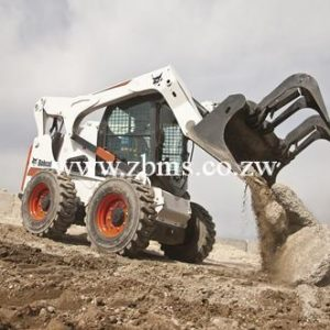bobcat loader earthmoving equipment for hire in Zimbabwe