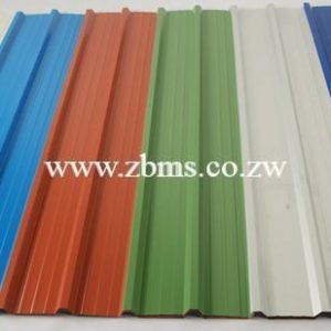 chromadec ibr color coated roofing sheets for sale in Zimbabwe