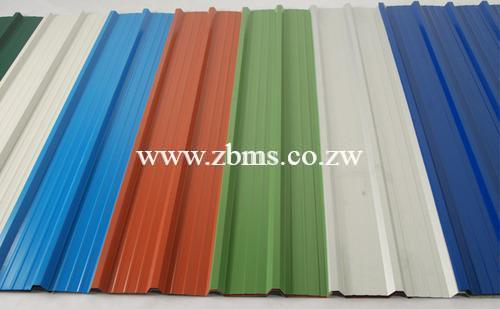 0 4mm Gauge Painted Chromadek Ibr Zimbabwe Building