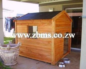 1.5m x 1.5m dog kennel house with window for sale in harare zimbabwe