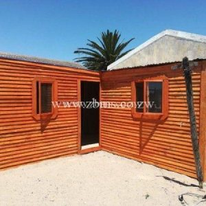 3 rooms wooden cabins house for sale in harare zimbabwe