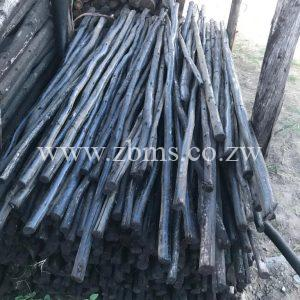 25mm - 50mm by 0.5m 1m 1.5m 1.2m 1.8m 2.1m 2.4m 2.7m 3m treated poles for sale harare zimbabwe